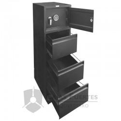 Archivero con Caja Fuerte FCBS-D4S